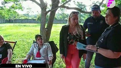 Detienen a sospechosa de prostituir a su hija en Juan E. O'Leary
