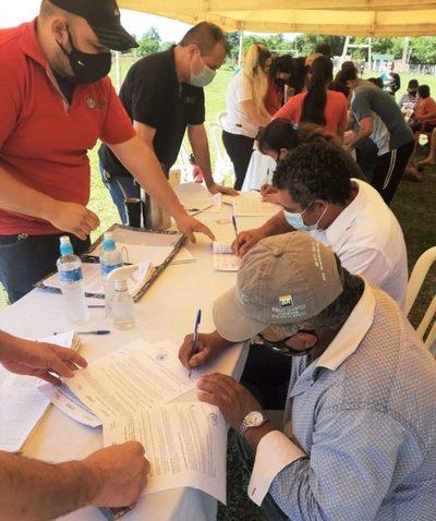 Más de 150 familias de Itá accedieron a la seguridad jurídica por sus lotes
