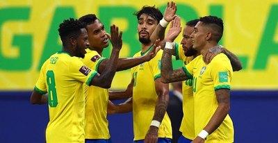 En una exhibición de Neymar, Brasil goleó a Uruguay y ya se siente en Catar