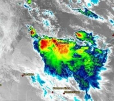 Alerta meteorológica por temporal con fuertes vientos