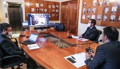 Ministro Llamosas destacó asistencia del FMI en materia de gobernanza