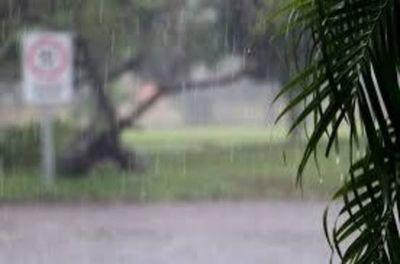 Intensas lluvias con tormentas eléctricas en todo el país