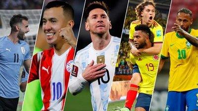 Argentina y Brasil no fallan en nueva fecha eliminatoria