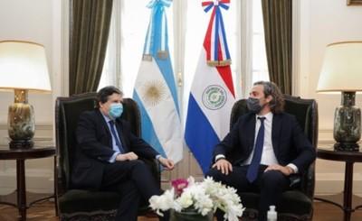 Cancilleres de Paraguay y Argentina acuerdan apertura de fronteras