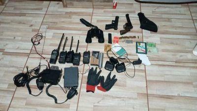 Incautan armas y equipos tácticos presuntamente usados en atentado contra concejal de Capitán Bado