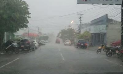 Anuncian lluvias y tormentas eléctricas en Coronel Oviedo