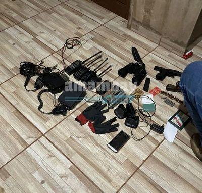 Tras allanamiento en Capitán Bado incautan armas