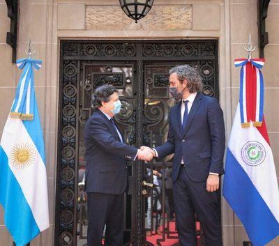Cancilleres de Paraguay y Argentina anuncian reapertura de fronteras