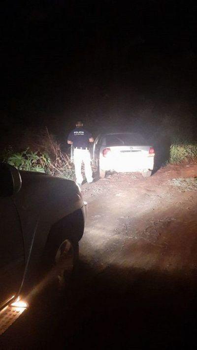 Policía recupera vehículo robado en Brasil tras persecución en Ciudad del Este