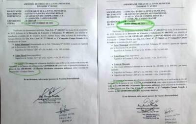 """Inmobiliaria Municipal"" sigue rifando terrenos en Luque •"
