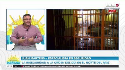 Criminólogo dice que cárceles hoy son fuentes de recaudación y el Estado debe tomar ya el control en PJC