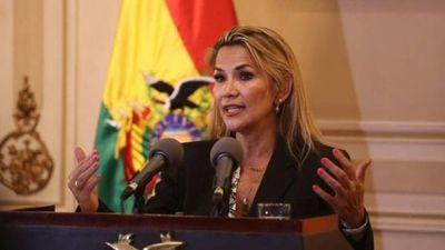 Expresidenta boliviana Jeanine Áñez es finalista al Premio Sájarov del Parlamento Europeo