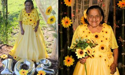 """""""Abuela Teresa"""" celebra sus 102 años de vida, en Coronel Oviedo"""