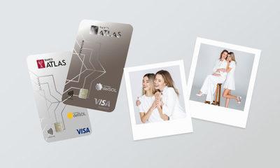 Banco Atlas otorga tarjetas de crédito al momento y extiende el horario en Shopping del Sol