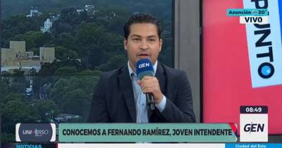 La Nación / Nuevo intendente de Pilar insta a jóvenes a participar en el cambio de la política