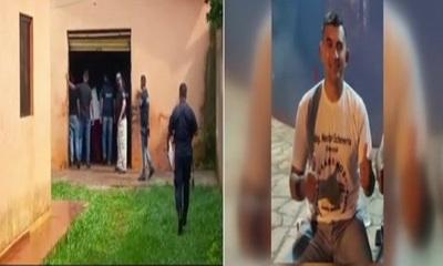 Allanamiento por asesinato de candidato a concejal en PJC