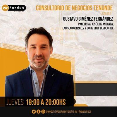 Consultorio de Negocios Tenonde con Gustavo Giménez Fernández