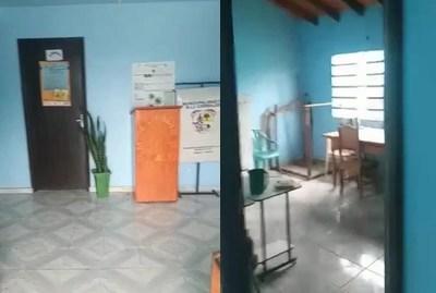 Municipalidad de R.I 3 Corrales quedó totalmente abandonada