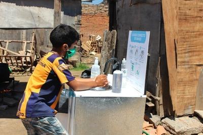 Por el día mundial del lavado de manos instalarán más puestos de higiene en asentamientos