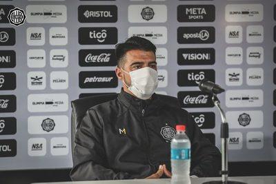 """Julio César Cáceres: """"Estamos con el deseo de levantar esta situación"""""""