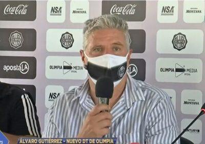 Gutiérrez revela el motivo de su salida de Olimpia