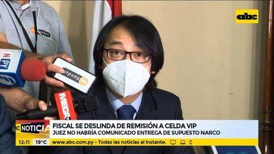 Fiscal se deslinda de remisión de Faustino Aguayo a celda vip
