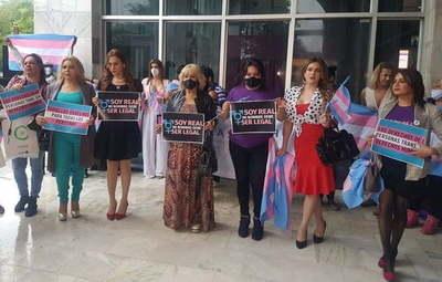 Personas trans exigen a la Justicia que reconozca sus identidades