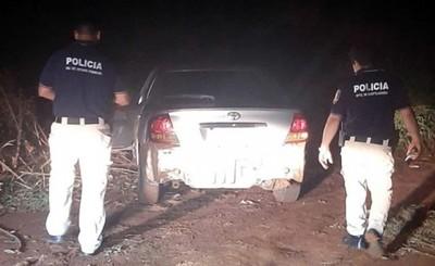 Recuperan vehículo robado en Foz de Yguazú tras persecución