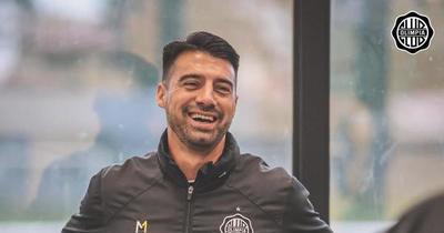 """Cáceres: """"Alegría y confianza quiero volver a transmitir a los jugadores"""""""