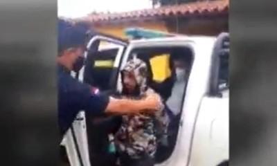 Homicidio en Mariano Roque Alonso: Allanamiento y detención