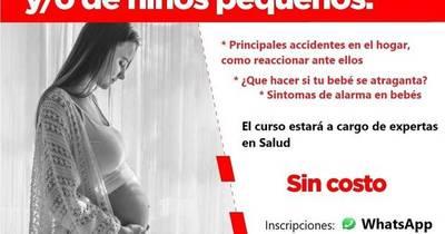 La Nación / Lanzan curso sin costo para mamás y embarazadas