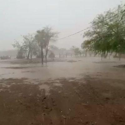 Anuncian sábado fresco a cálido y lluvias dispersas