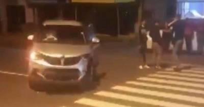 La Nación / Falta de energía eléctrica ocasiona aparatoso accidente en Roque Alonso