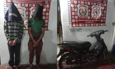 Recuperan motocicleta denunciada como robada en Coronel Oviedo – Prensa 5