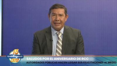 AUTORIDADES CHAQUEÑAS SALUDAN A RCC POR SU ANIVERSARIO 15