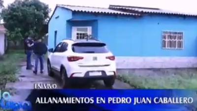Nuevo allanamiento en Pedro Juan Caballero por asesinato de policía