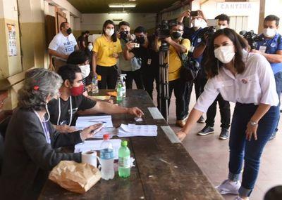 Johanna Ortega dice que alianza en 2023 es necesaria con metas potables y sin repartija de cargos