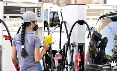 Petropar también subió precio de sus combustibles