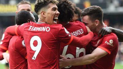 El Liverpool destroza al nuevo Watford de Ranieri