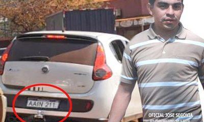 Más denuncias contra agentes de Investigaciones de San Alberto: Usan vehículo robado en Brasil – Diario TNPRESS