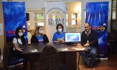 """Municipalidad de Ciudad del Este se une a la """"Noche de los Museos"""" – Diario TNPRESS"""