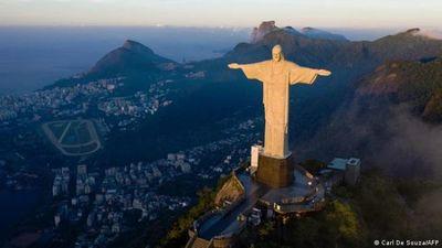 La famosa estatua del Cristo Redentor en Río de Janeiro cumple 90 años