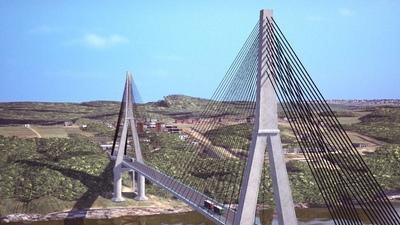 Puente de la Integración abre nuevo corredor de exportación agrícola entre Paraguay y Brasil.