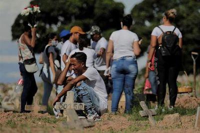 Covid-19: Brasil registra 483 muertes en 24 horas