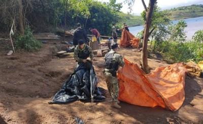 Anulan campamentos clandestinos en Tres Fronteras