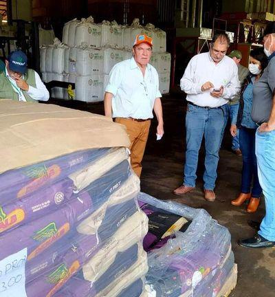 """Distribuyen semillas a 700 productores en el marco del proyecto """"Avatiky"""""""