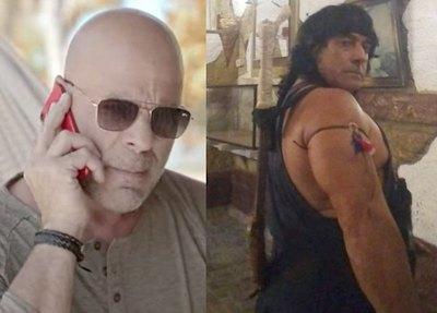 """Crónica / ¡CHÁKE MOQUETE! """"Creen que Bruce Willis será mejor que Rambo"""""""