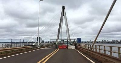 La Nación / Pese a las promesas no se habilita puente Encarnación-Posadas