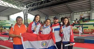 La Nación / Paraguay cosecha cuatro medallas