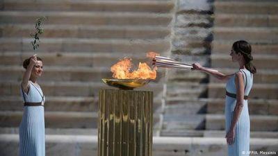 La llama olímpica será nuevamente encendida sin espectadores en Grecia